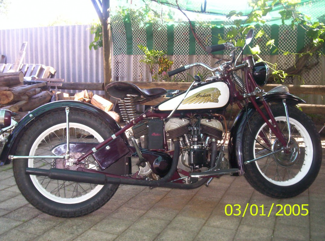 1941 Indian 741B - 741Bscout - Shannons Club-9920
