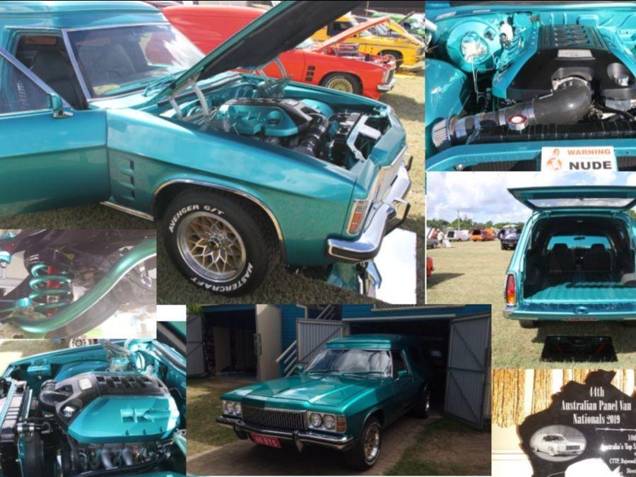 1979 Holden HZ Panelvan