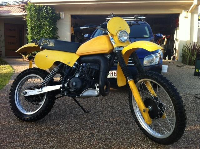 1980 Suzuki PE 400