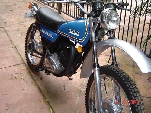 1974 Yamaha DT 175