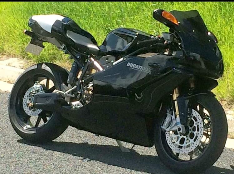 2005 Ducati 998cc 999s
