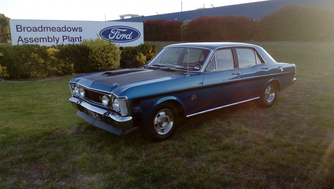 1970 Ford Performance Vehicles Falcon