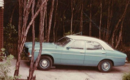 1972 Ford Cortina XL