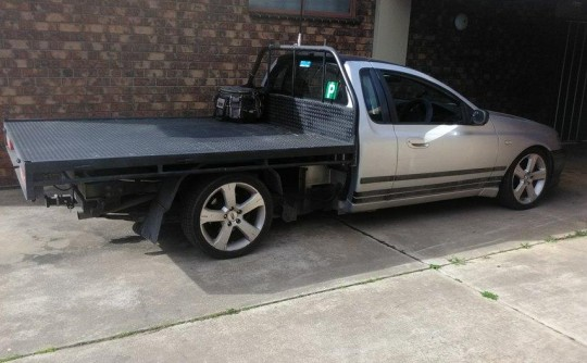 2004 Ford BA Falcon Ute