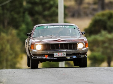 JohnE48,Targa Tasmania,Valiant Charger,Tarmac Rally