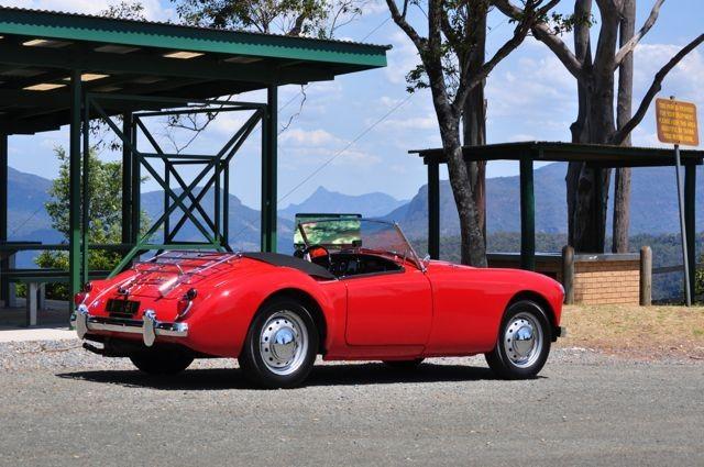 1961 MG A