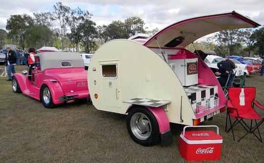 1950 Homemade? Teardrop Camper