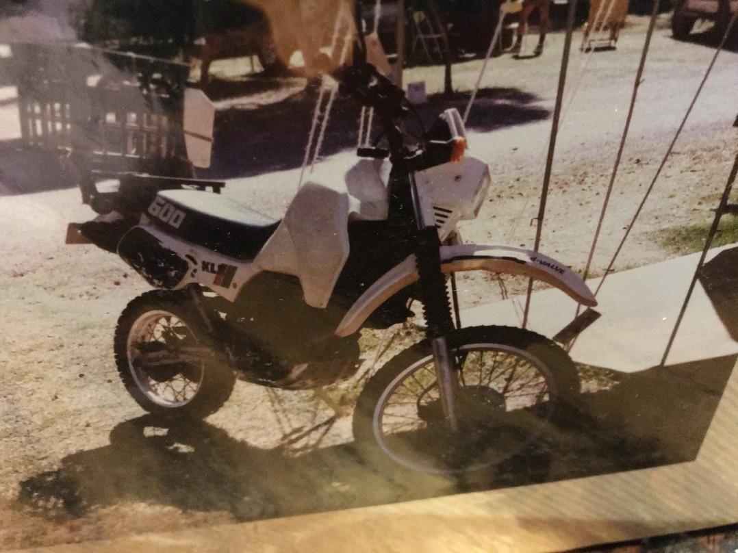 1985 Kawasaki 564cc KLR600 (KL600)