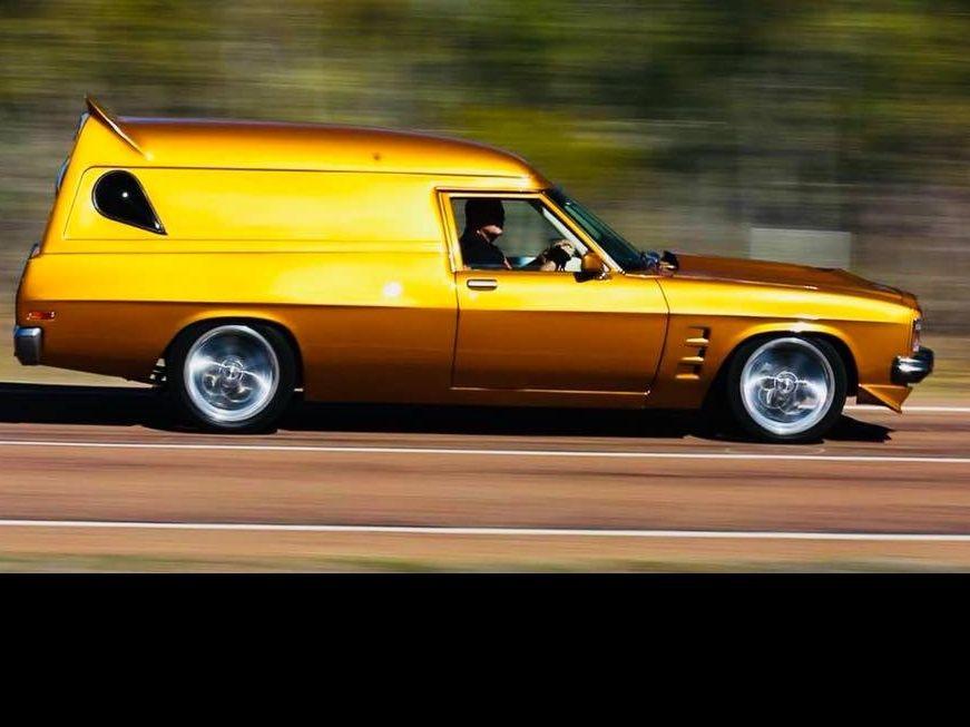 1976 Holden hx Panel Van Sandman