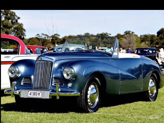 1953 Sunbeam Talbot Alpine