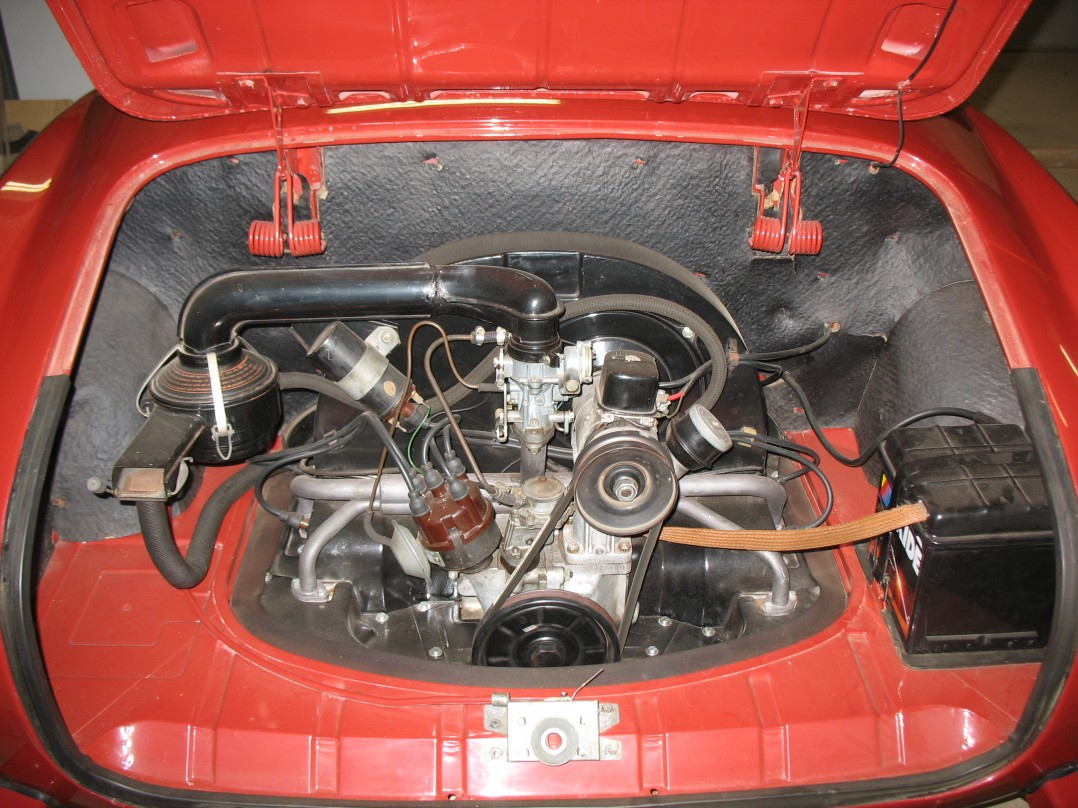 1962 Volkswagen Kharmann Ghia