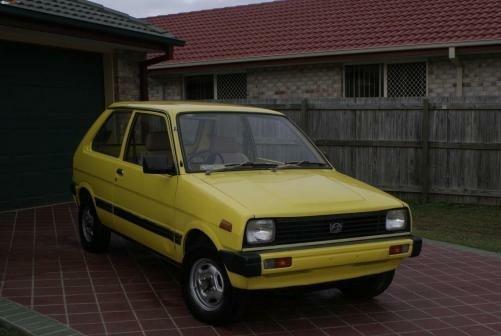 1987 Subaru SHERPA