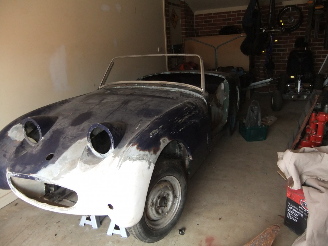 1959 Austin Healey Sprite Mark 1 Bugeye