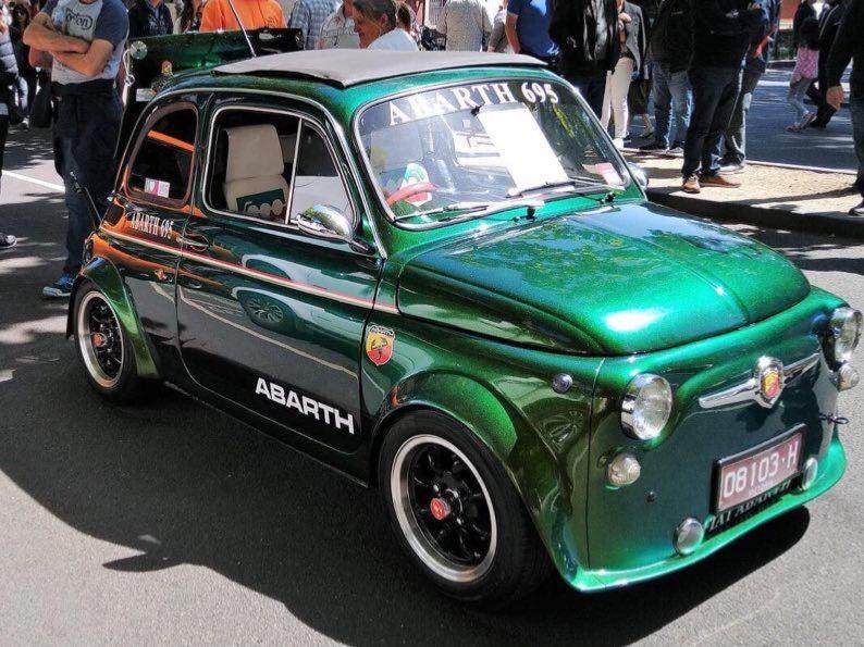 1966 Fiat 500 F Abarth 695 modified