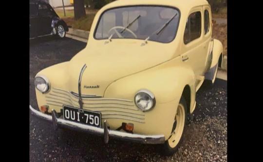 1951 Renault 750 4CV