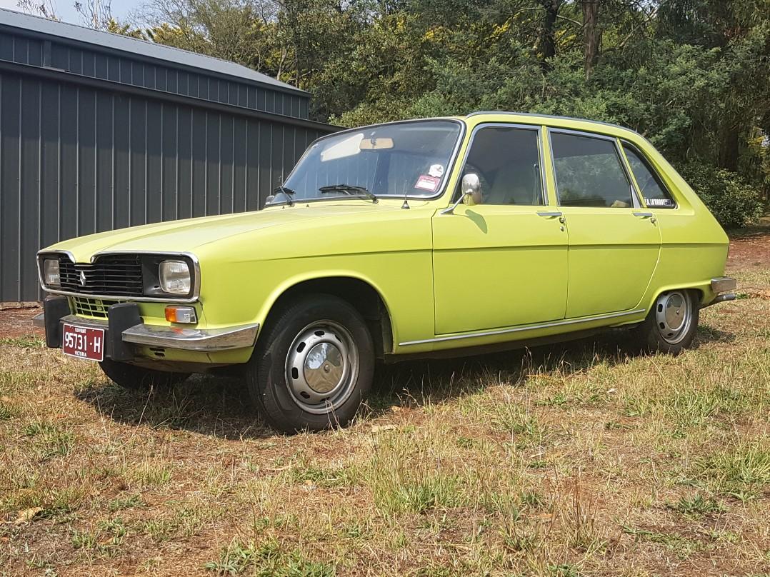 1976 Renault 16TS