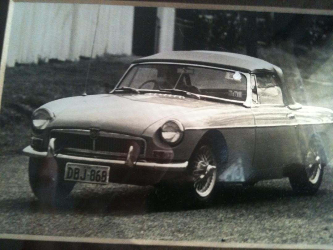 1962 MG B