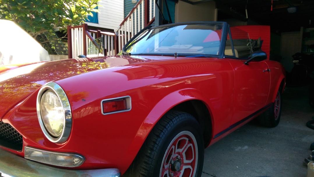 1970 Fiat Spider