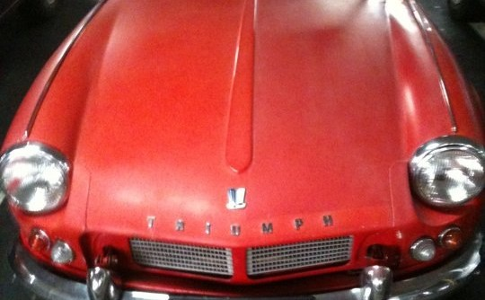 1963 Triumph spitfire mk1