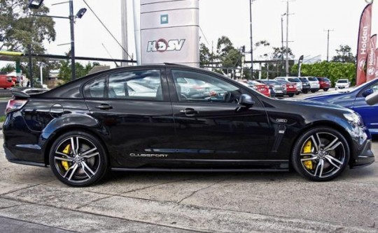 2017 Holden Special Vehicles VF Clubsport LSA R8