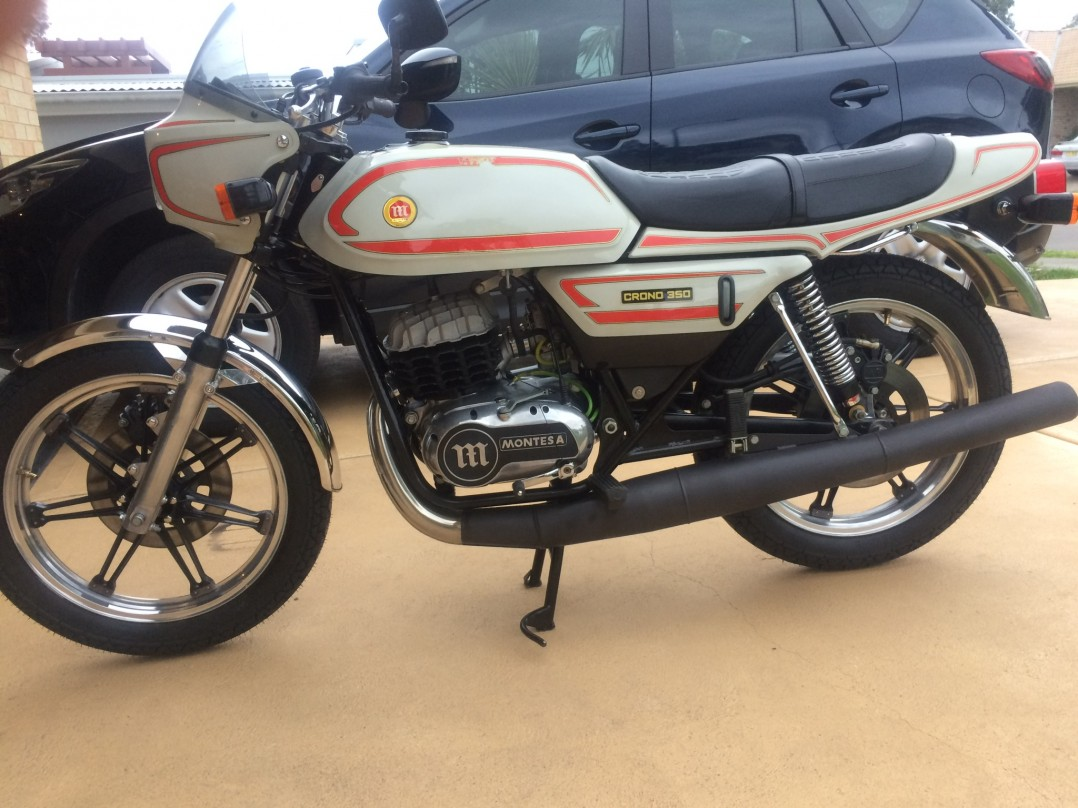 1982 Montesa 350 Crono