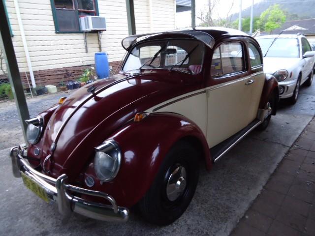 1962 Volkswagen 1200 Deluxe Beetle