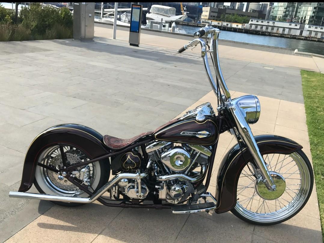 1956 Harley-Davidson Rigid