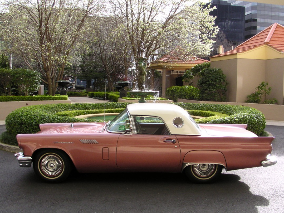 1957 Ford Thunderbird E-code