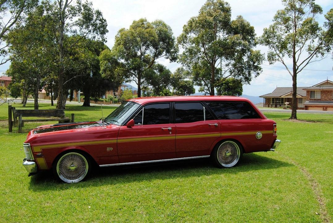 1969 Ford falcon XW Wagon
