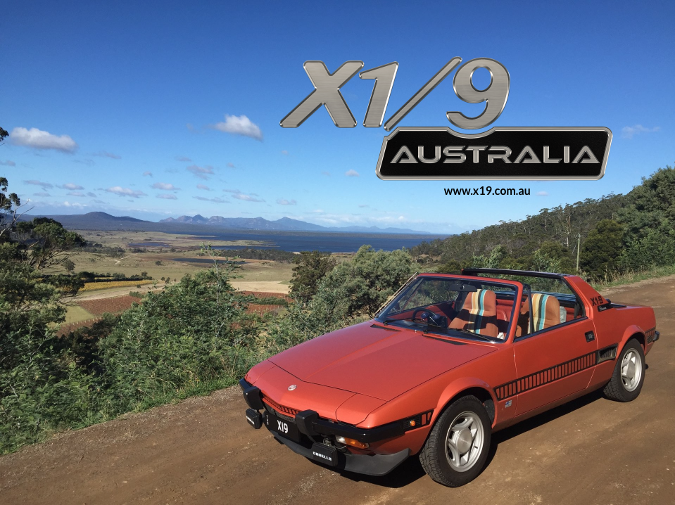1978 Fiat X1/9 (Orange Series 1)