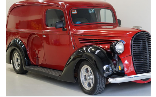 1938 Ford Beer barrel Grill