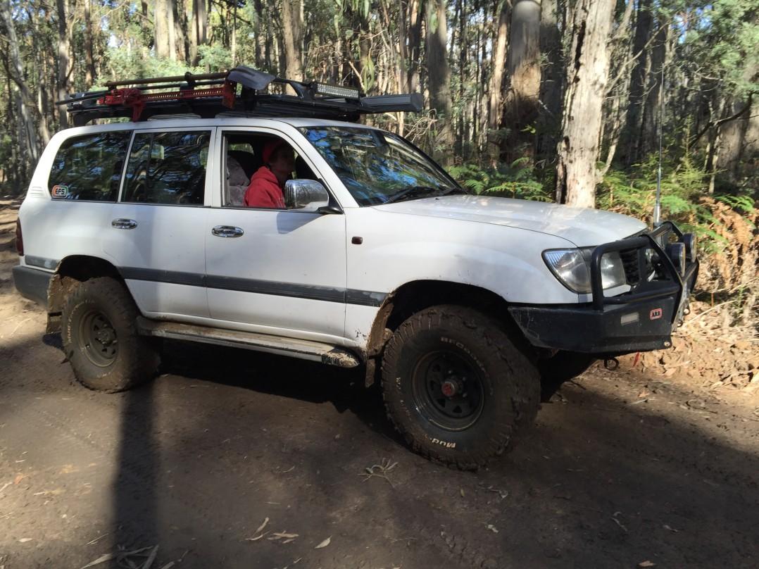 1999 Toyota LANDCRUISER (4x4)