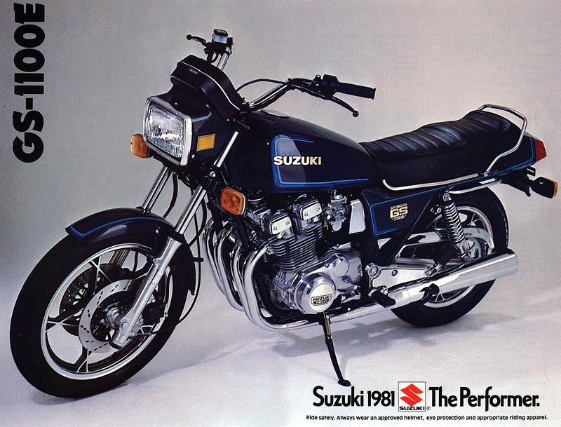 1981 Suzuki 1074cc GSX1100E