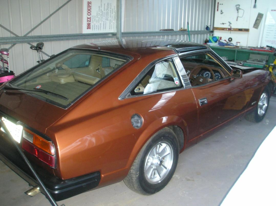 1981 Datsun 280 ZX Targa Top
