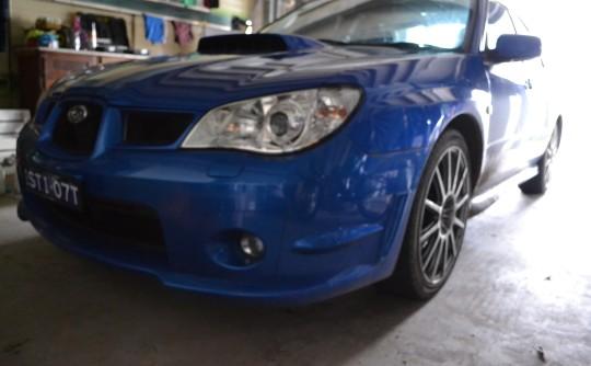 2007 Subaru turned by STI WRX