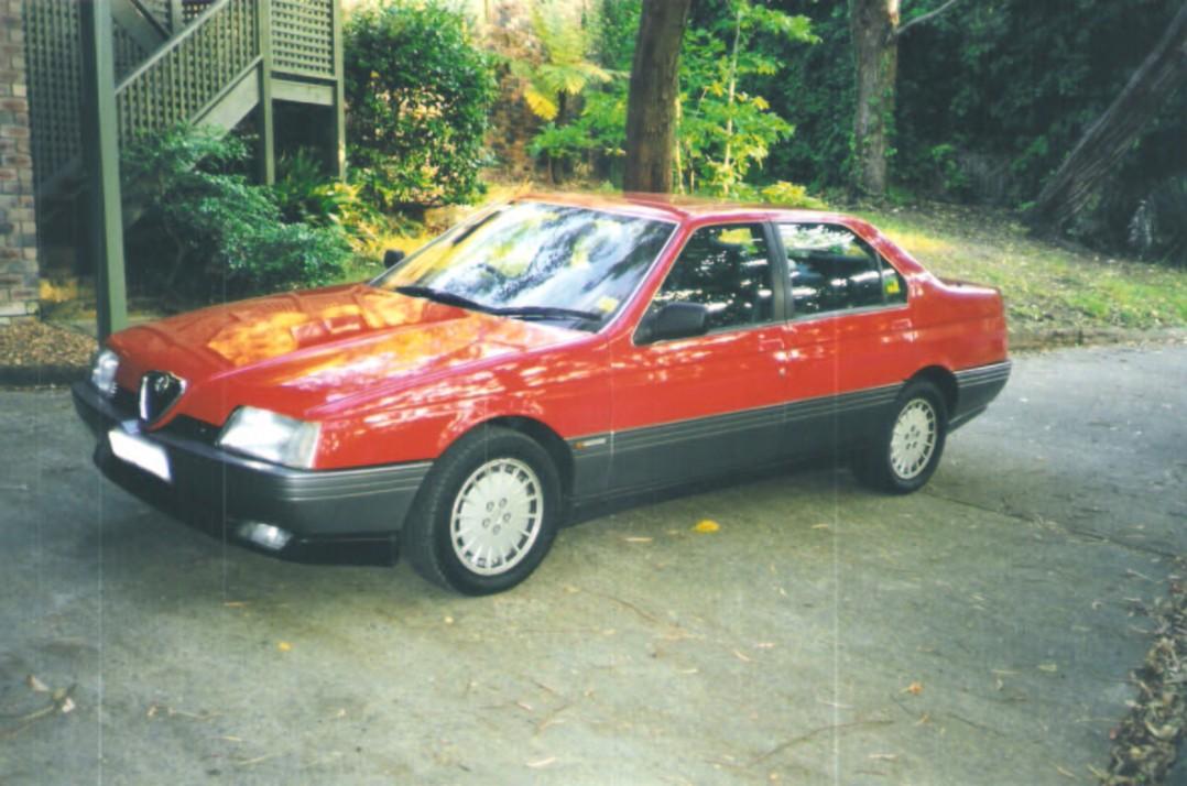 1990 Alfa Romeo 164 LUXURY PACKAGE