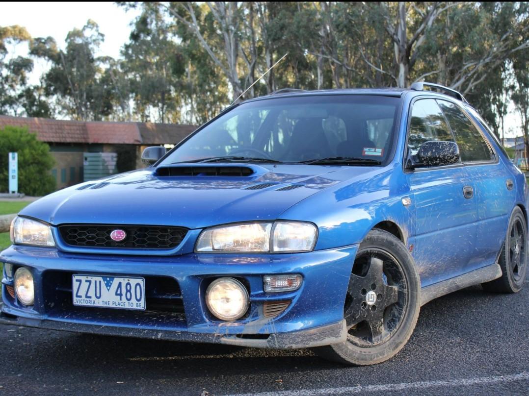 1998 Subaru IMPREZA WRX (AWD)