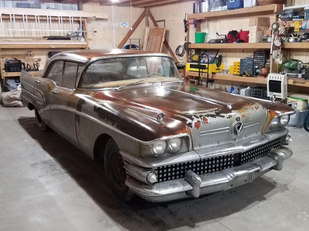1958 Buick Century 4dr