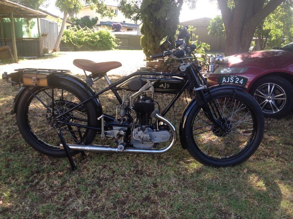 1924 AJS B5