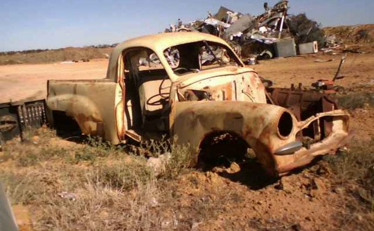 Rusty the Ute used at the Deni Ute Muster