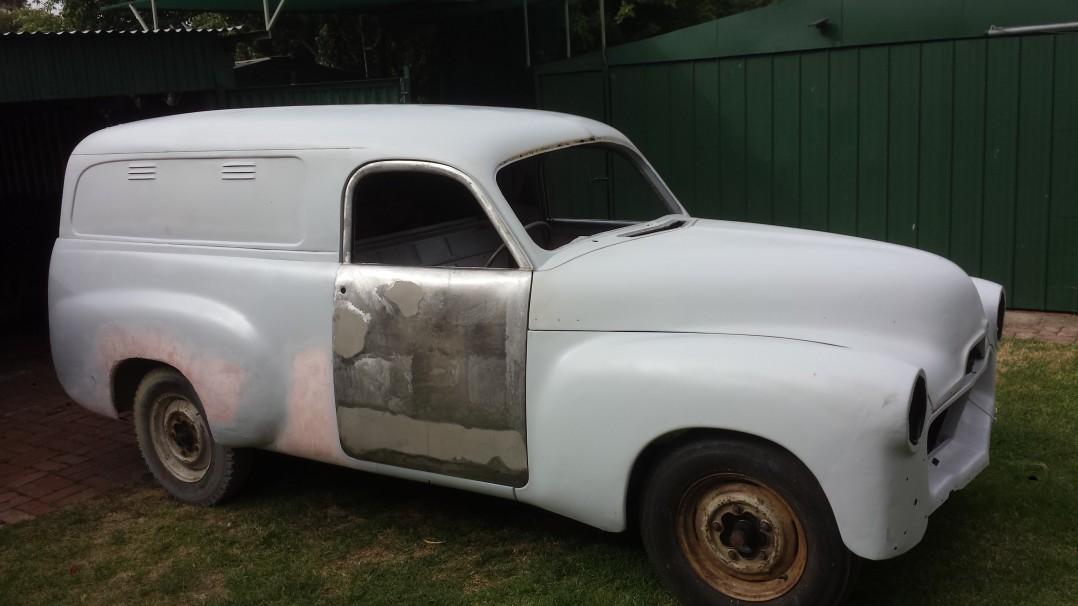 1954 Holden FJ Panel Van