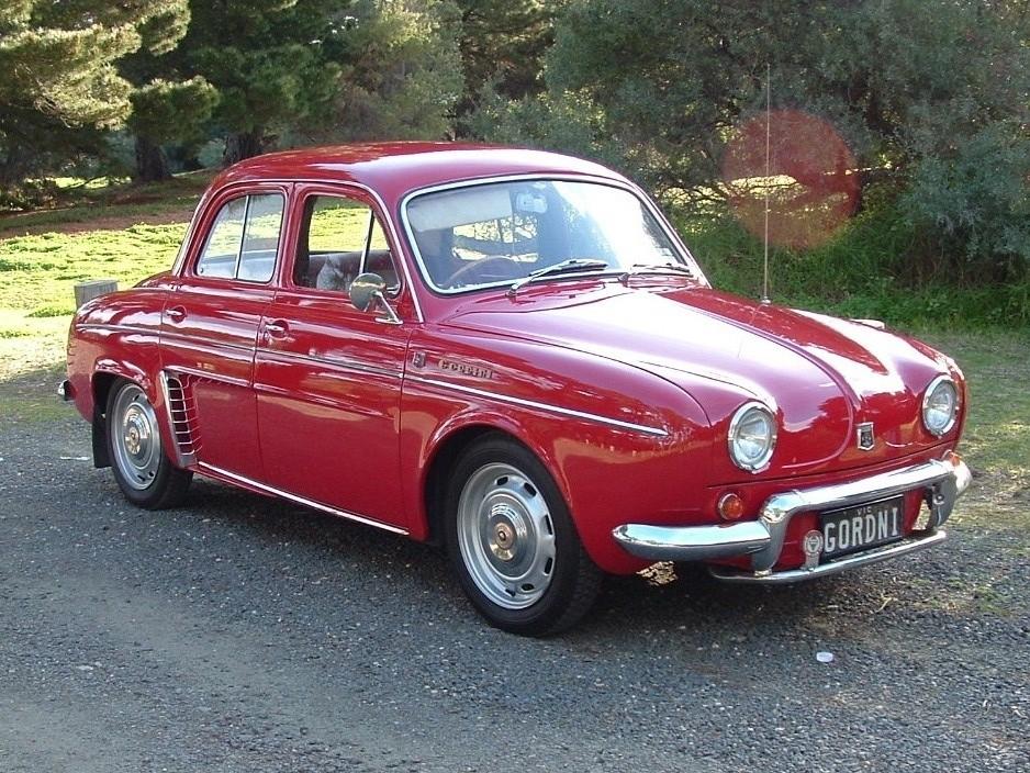 1961 Renault Gordini
