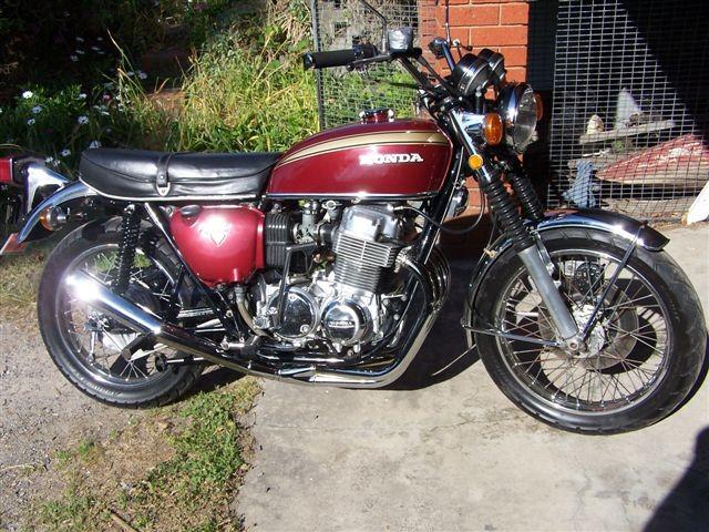 1971 Honda 750 four K2