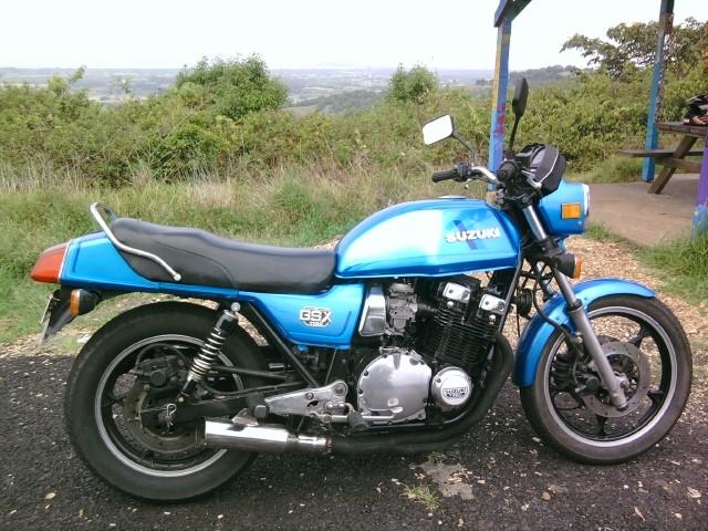 1980 Suzuki 1074cc GSX1100E