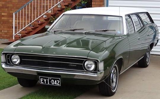1972 Ford Falcon Fairmont
