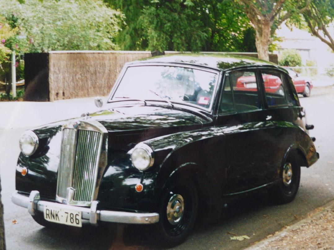 1952 Triumph mayflower