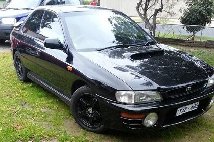 1997 Subaru MY97 WRX Limited Edition