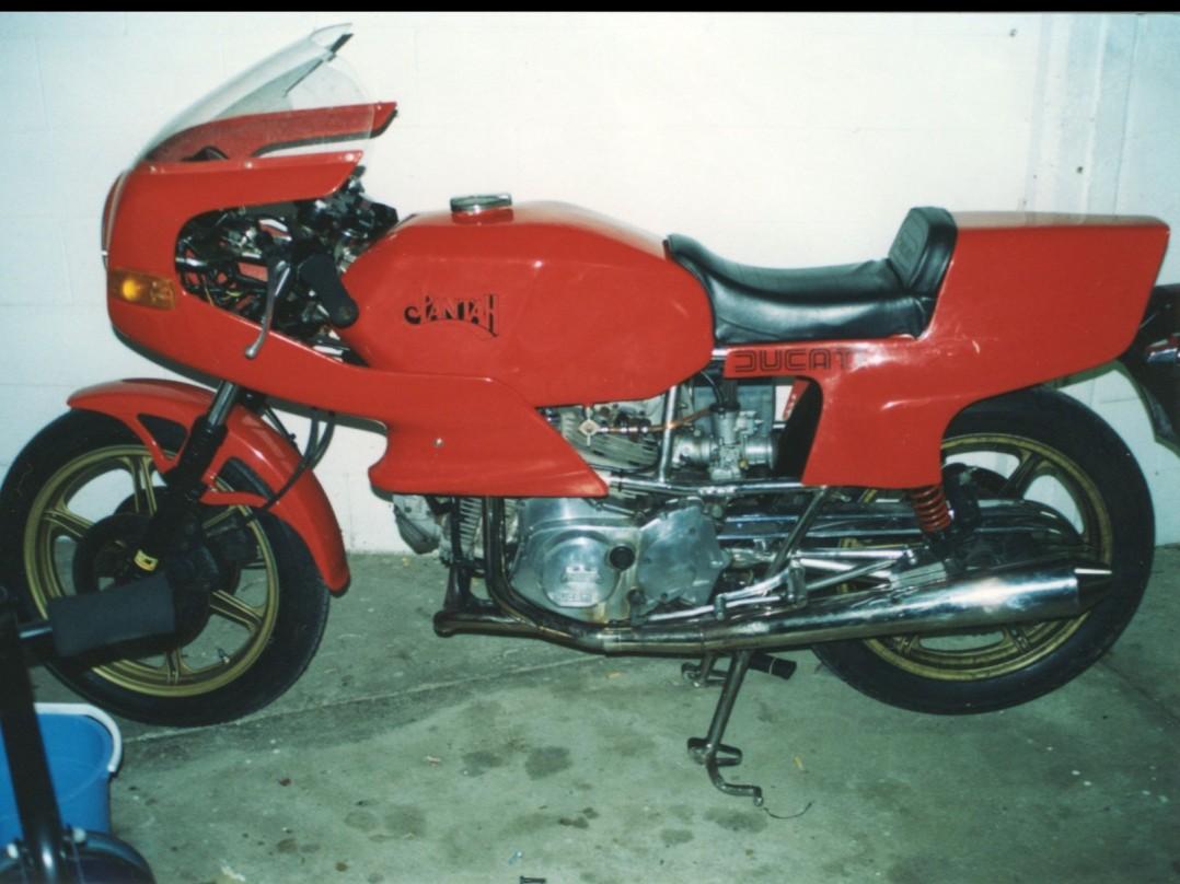 1982 Ducati 600 Pantah