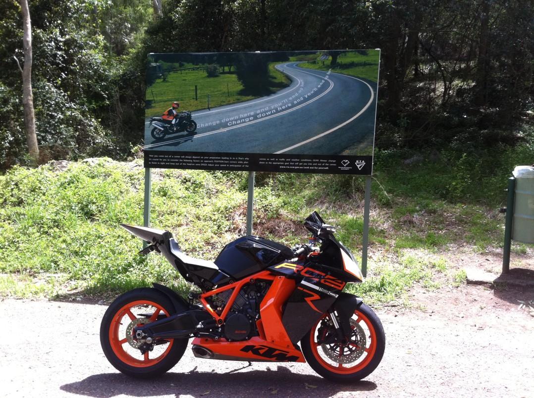 2012 KTM 1195cc 1190 RC8 R