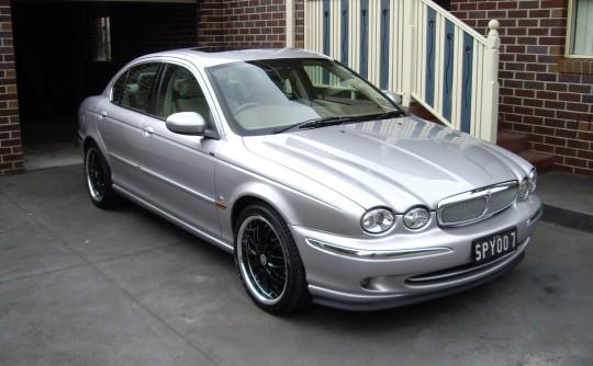 2001 Jaguar X Type R